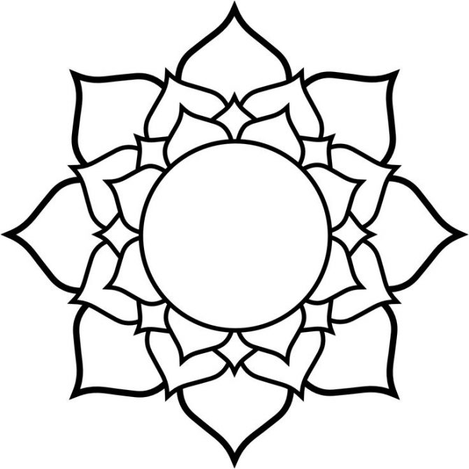 671x671 Coloring Pages Flower Drawing Clipart Lotus Drawings Of Flowers