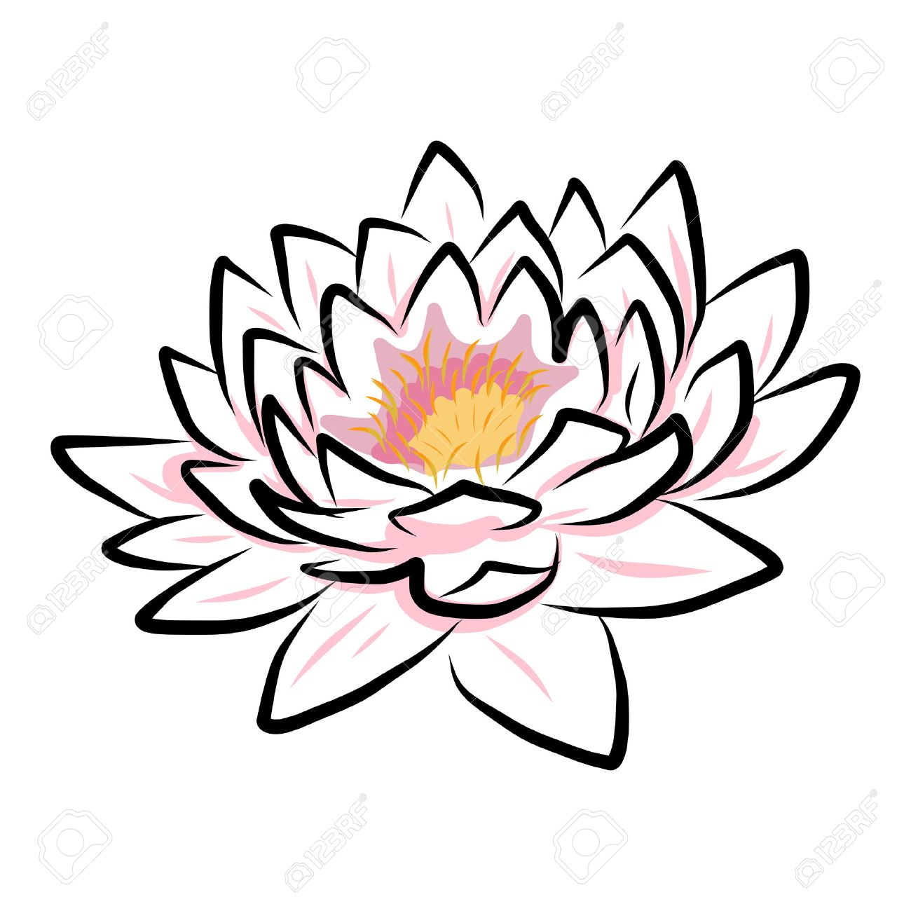 Lotus drawing free download best lotus drawing on clipartmag 1300x1300 draw lotus flower gallery mightylinksfo
