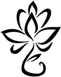 200x252 Clip Art Black And White Lotus Flower Clipart