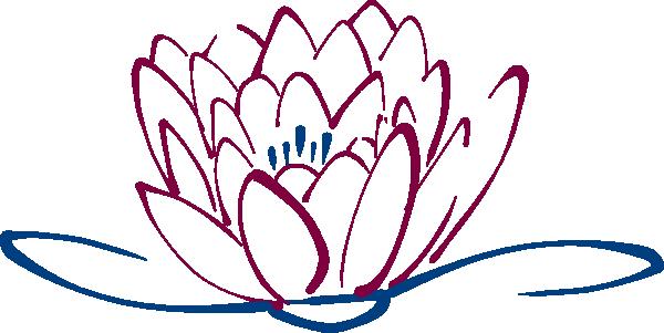 600x301 Blue Maroon Lotus