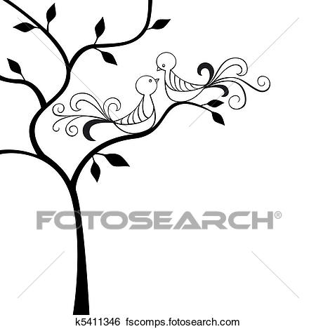 450x469 Clip Art Of Love Birds K5411346
