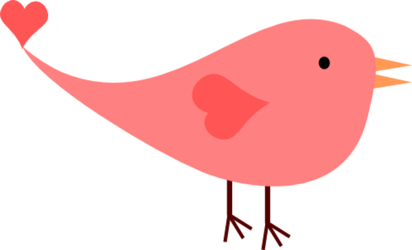 600x364 Cute Bird Clipart