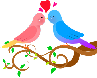340x273 Love Birds Love Bird Clip Art 2