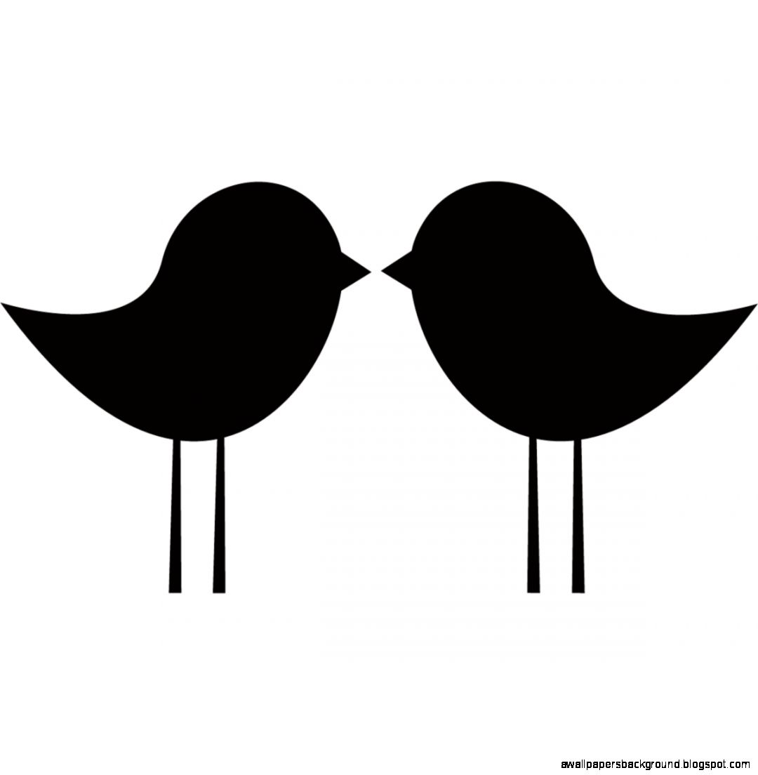 1080x1104 Lovebird clipart silhouette