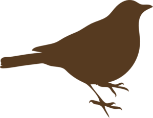 299x231 Clip art bird song