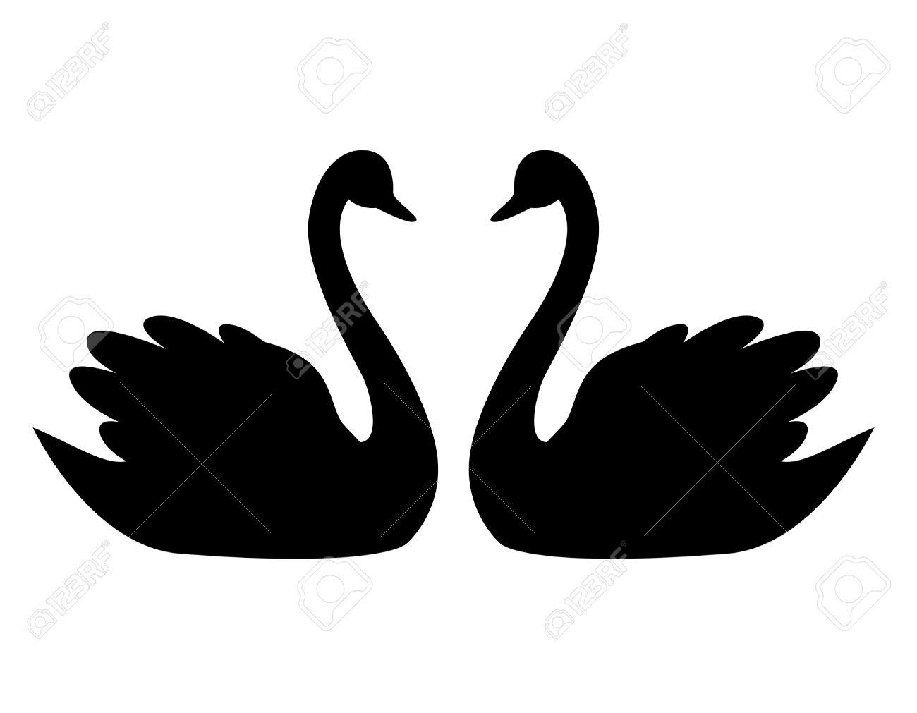 1300x1011 Top 68 Swan Clip Art