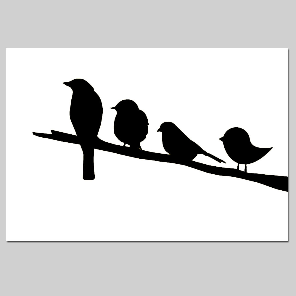 1000x1000 Birds On A Branch