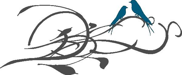 600x248 Love Birds Love Bird Silhouette Free Clipart Design Download Image