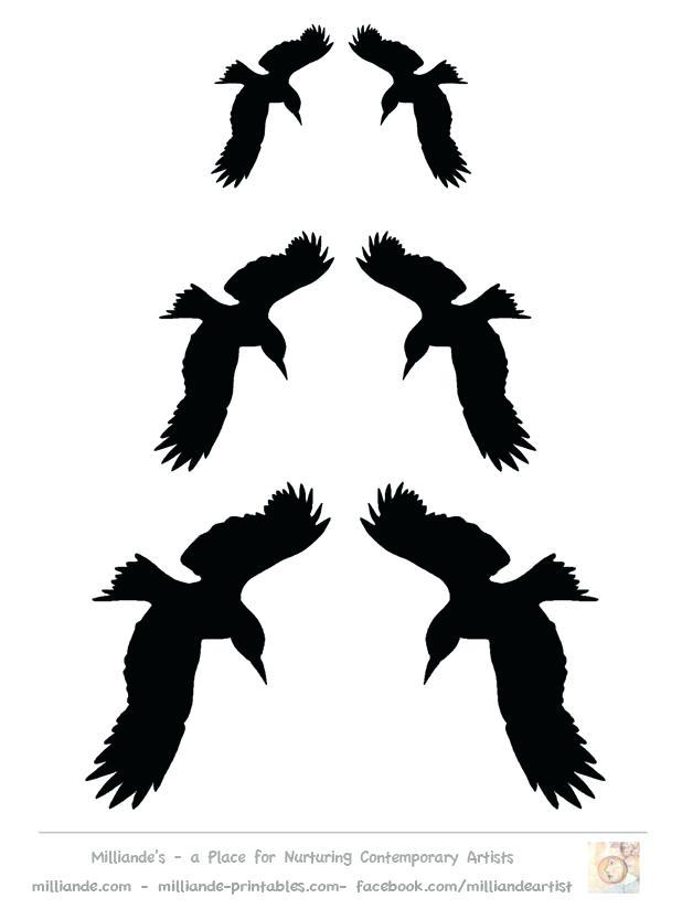 618x824 Printable Bird Stencils Free Printable Pumpkin Stencils Templates