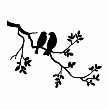 353x355 Nursery Wall Decal Tree Tree Silhouette With By Modernwalldecal