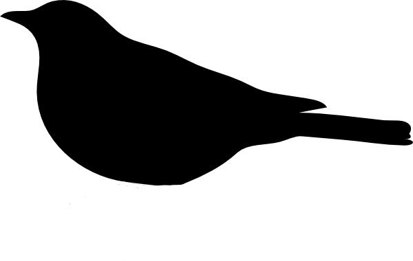 600x380 Bird Clipart Simple