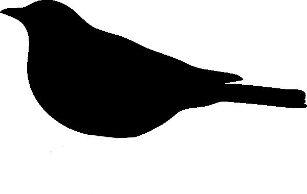 600x380 Bird Clipart Simple