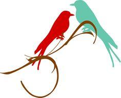 236x191 Clipart 12427 birds in love