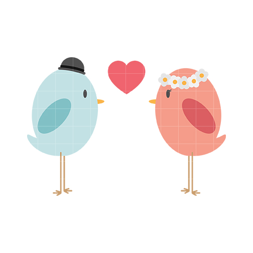 504x504 Cute love birds clipart free clipart images 3