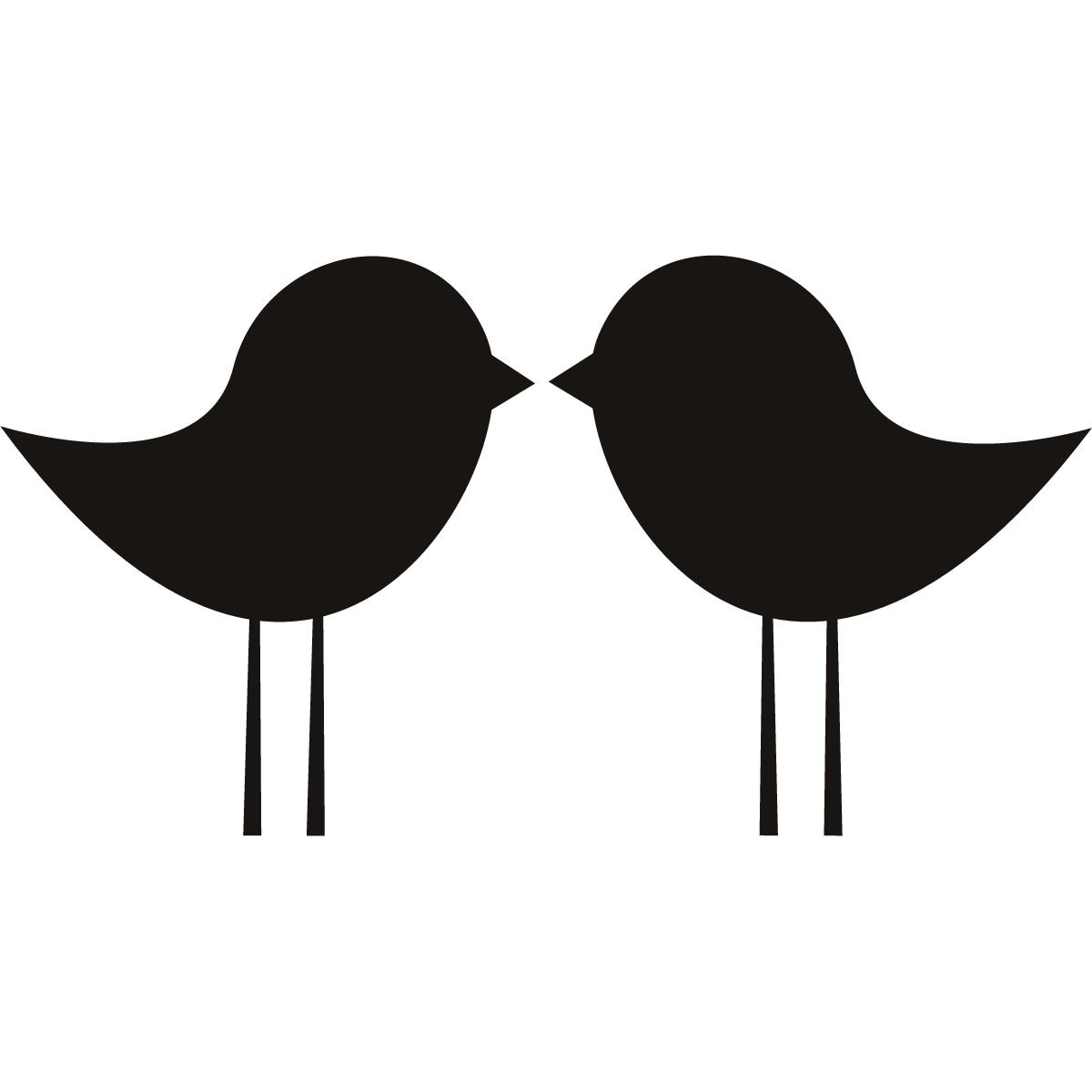 1200x1200 Kissing Birds Clip Art Cliparts