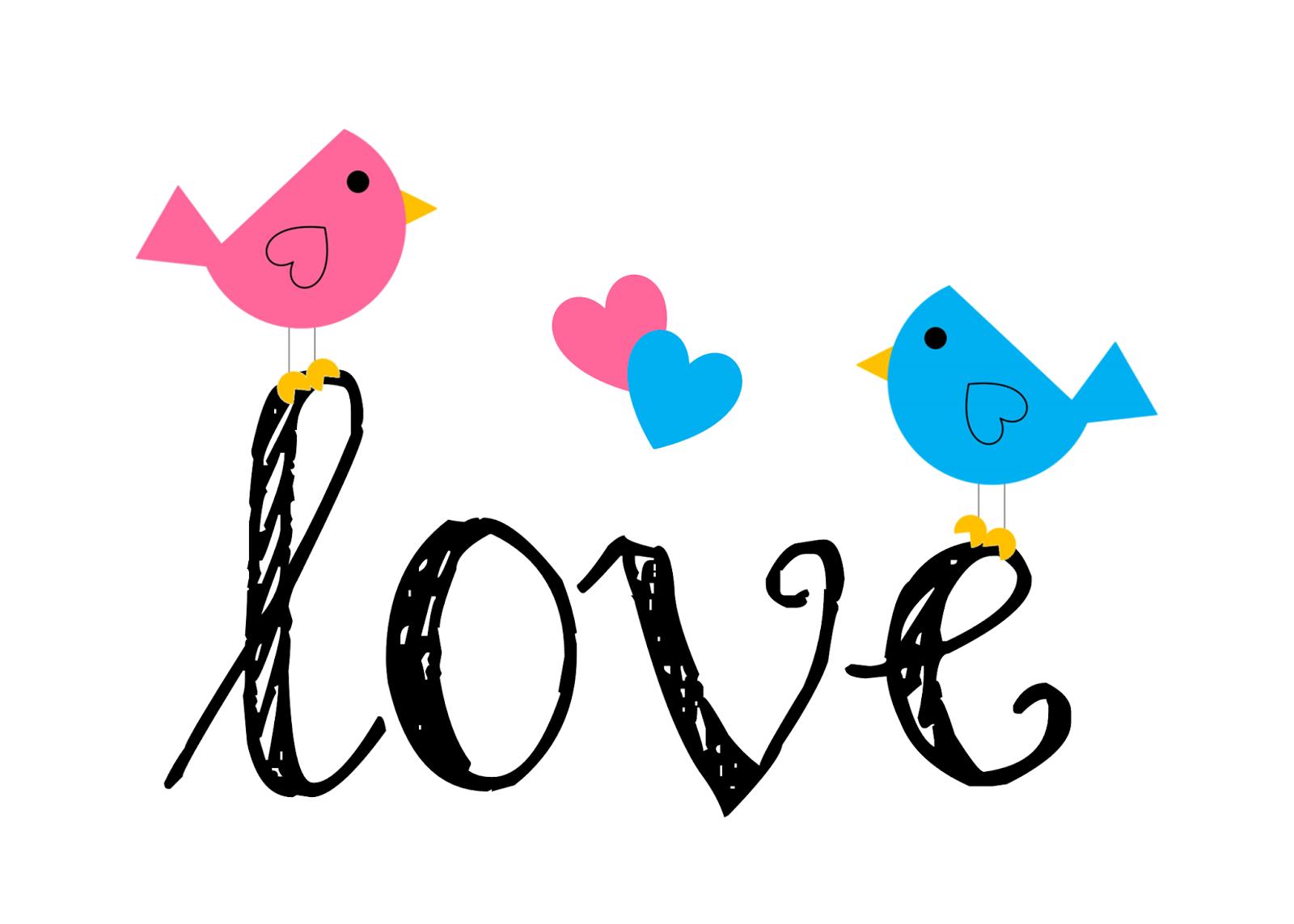 1600x1143 Love Birds Clipart