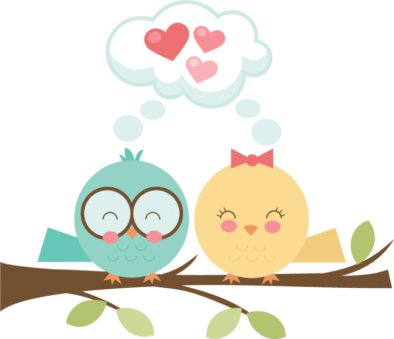 800x688 Lovebird Clipart Cute