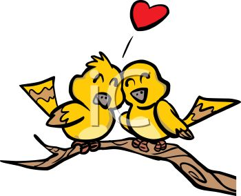 350x284 Two love birds
