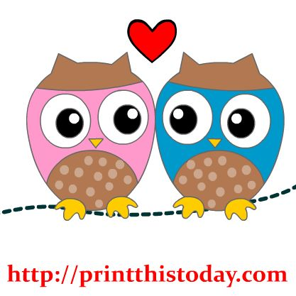 Love Birds Clipart Free