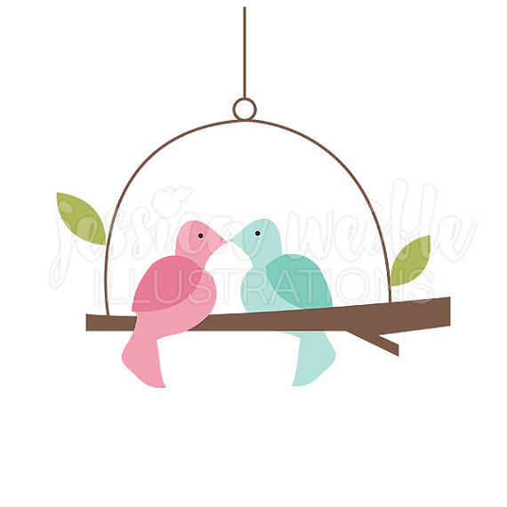 570x570 Love Birds Clipart Wedding Free Images 3
