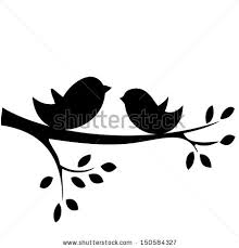 220x229 Birds On A Branch Silhouette Clip Art Free