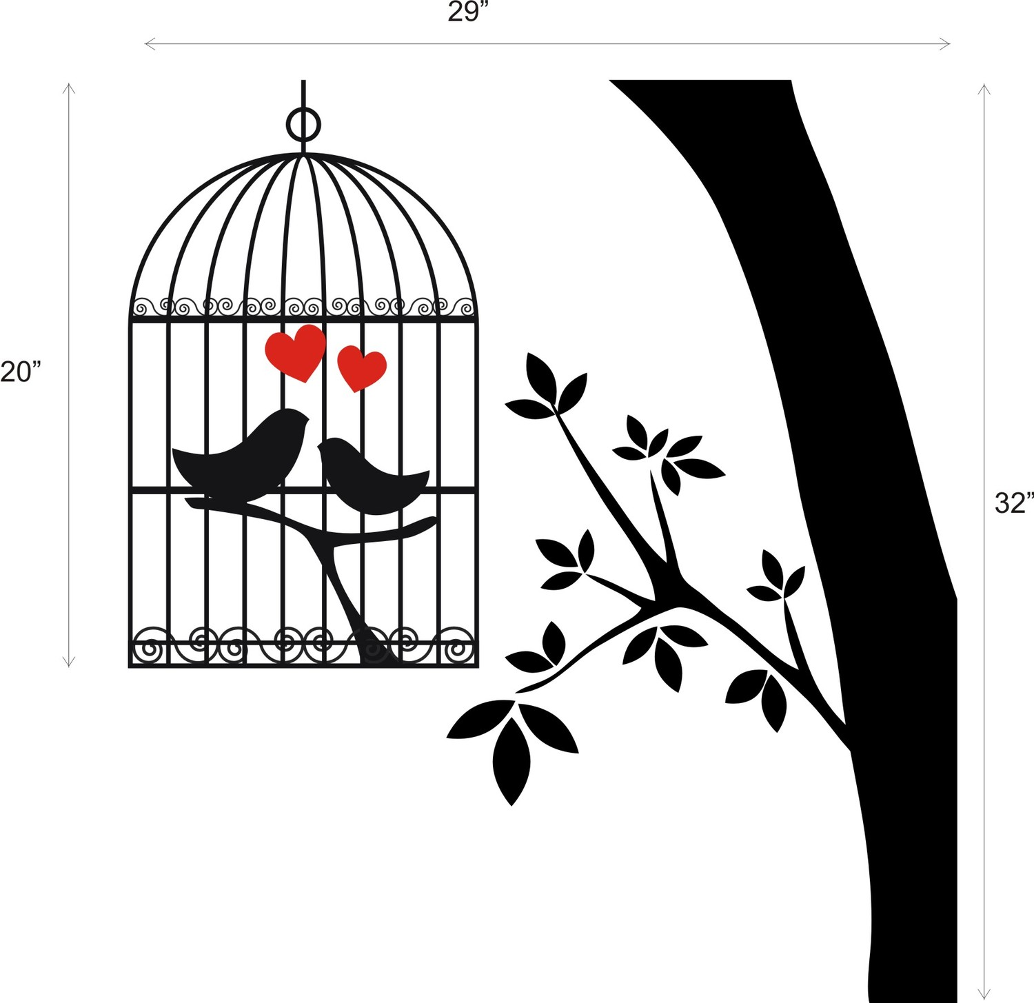 1500x1455 Lovebird Clipart Wedding Birdcage