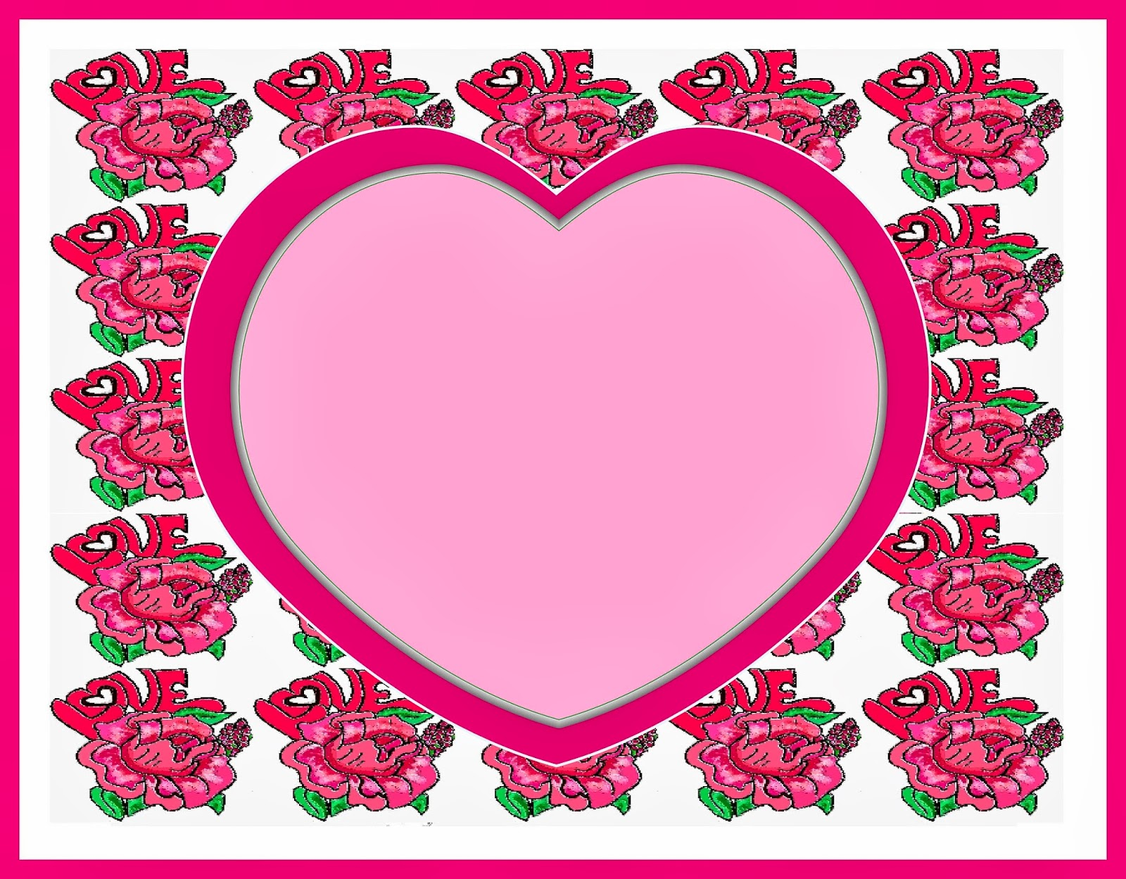 1600x1249 Christian Images In My Treasure Box Rose Heart Borders And Frames