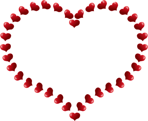 490x401 Hearts And Flowers Clip Art Clip Art Borders And Corners