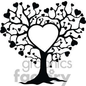 300x300 Love clipart family tree