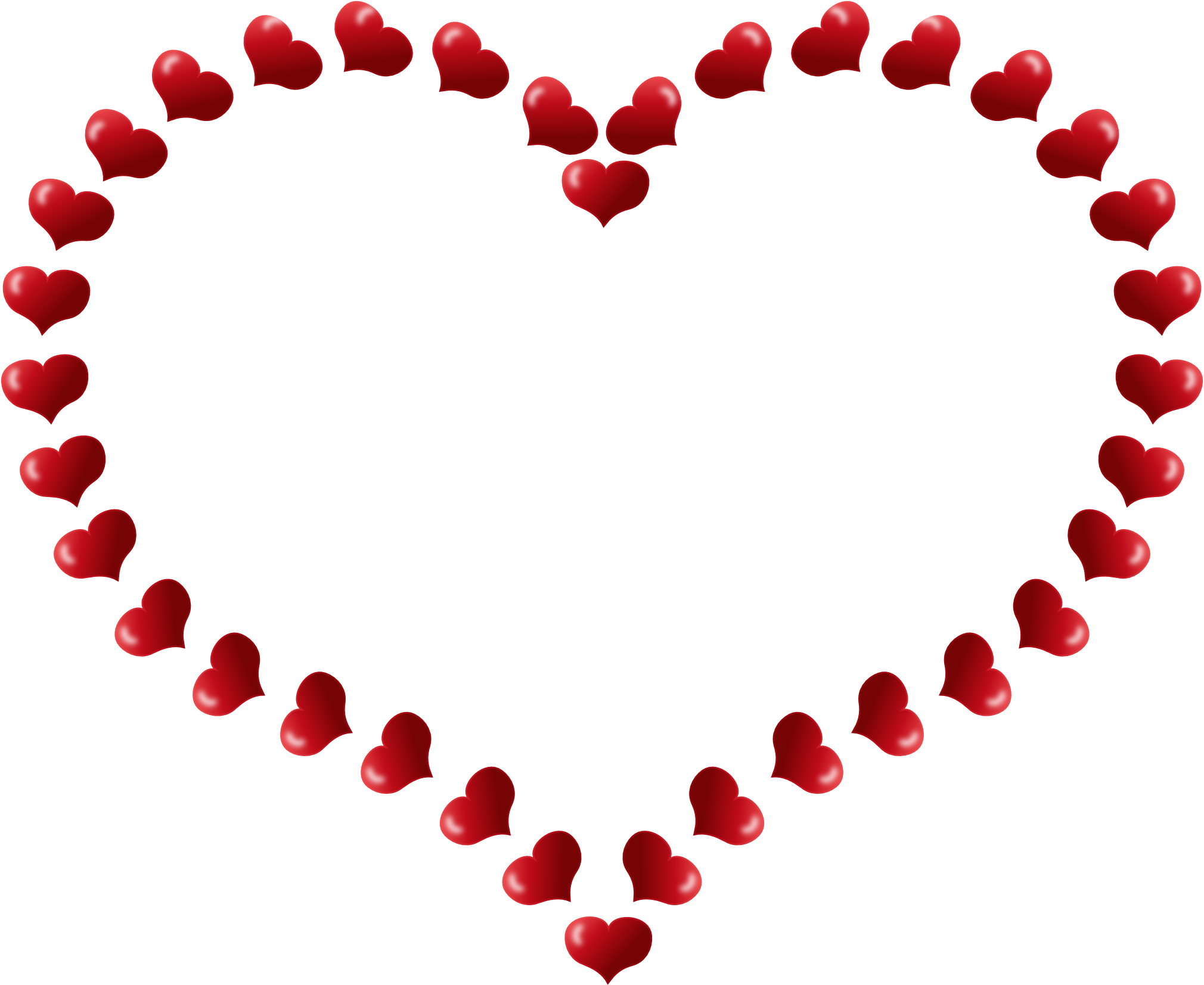 2020x1653 Heart Border Clip Art Clipart Panda