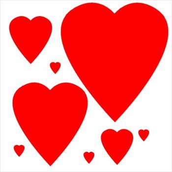 350x350 Clip art free hearts