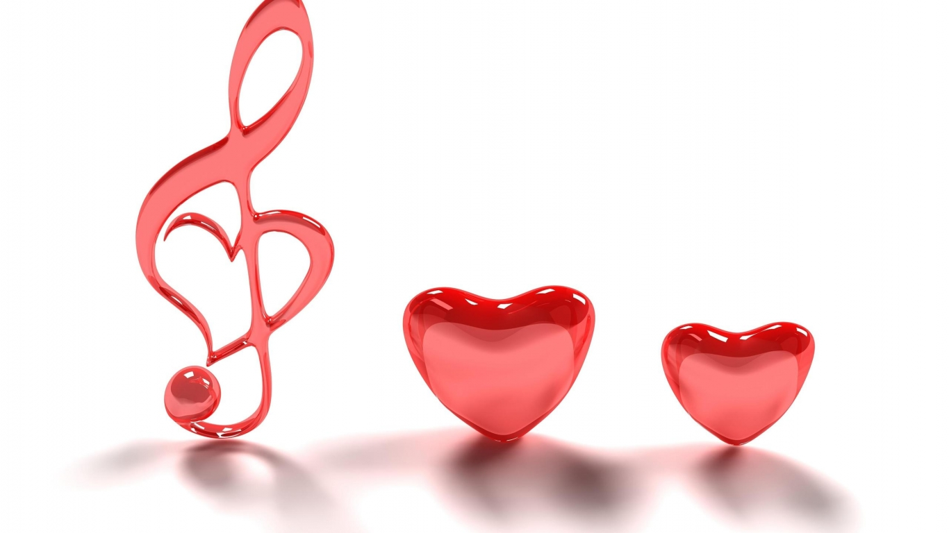 1366x768 Hd Love Clipart Download