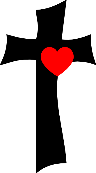 330x595 Cross With Love Clip Art