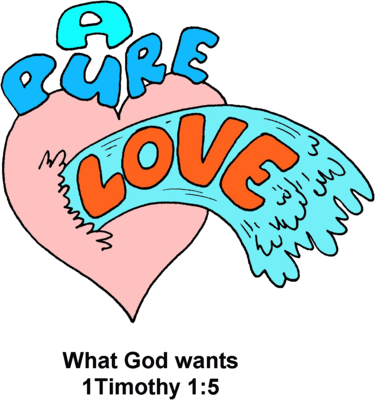 375x400 Image A Pure Love 1 Timothy Clip Art