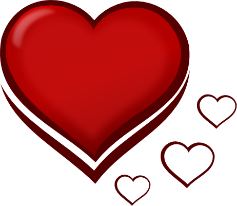 462x401 Clip Art For Love Clipart
