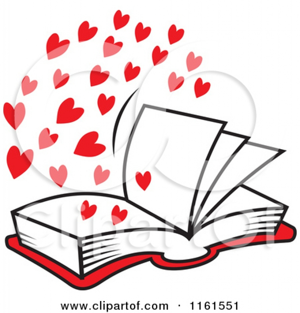 980x1024 Book Clipart Love