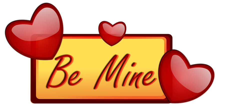 900x438 Love Hearts Clip Art