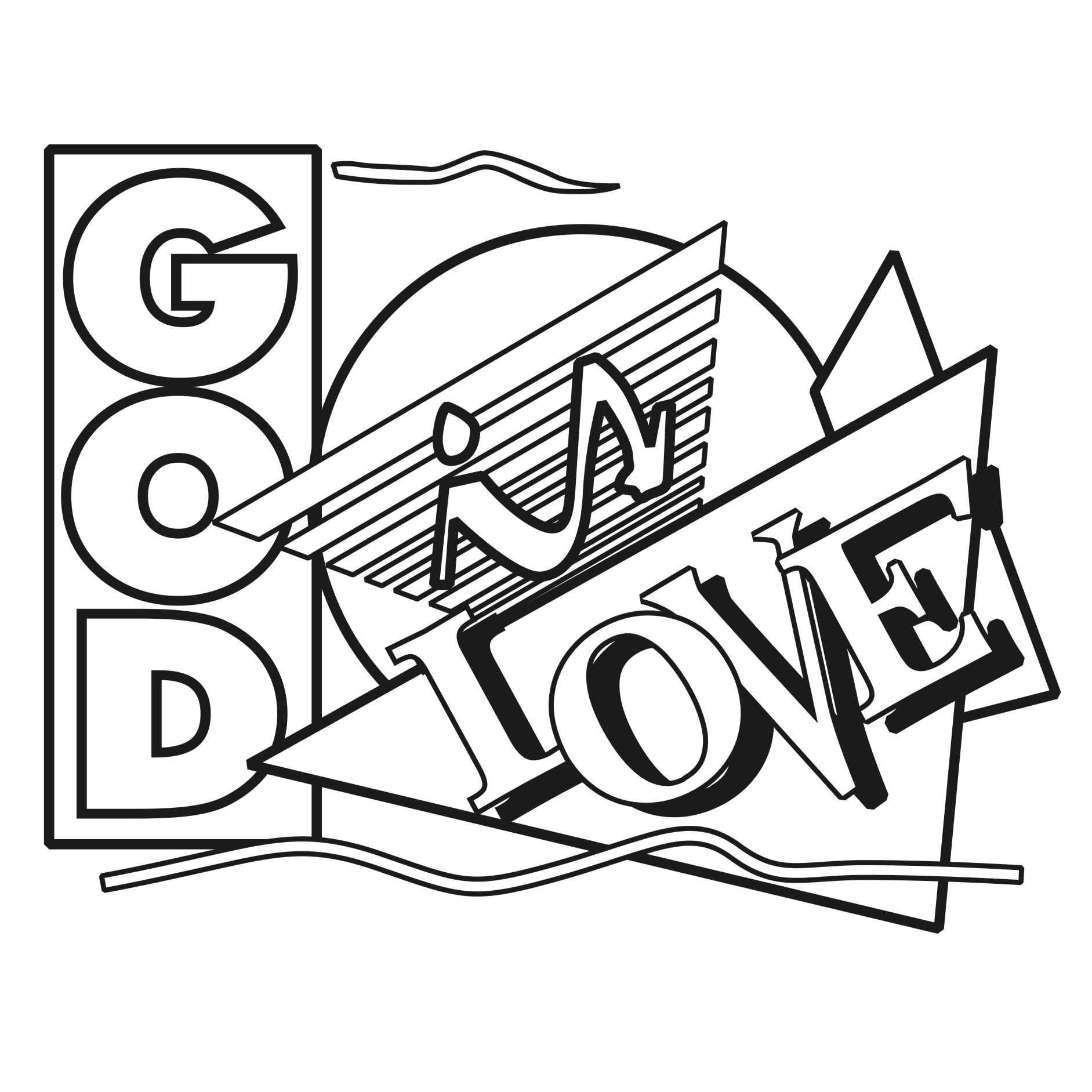 1883x1883 God Is Love Clip Art Cliparts