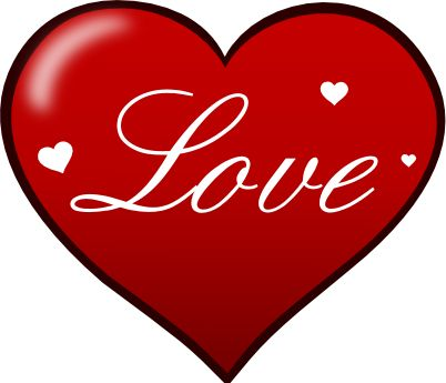 402x345 Love Clipart Big Heart