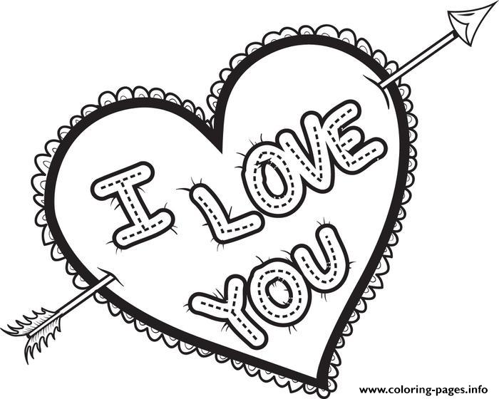 new design ideas: Coloring Pages I Love You