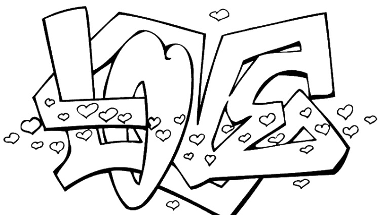 750x425 Love Coloring Pages To Print Murderthestout