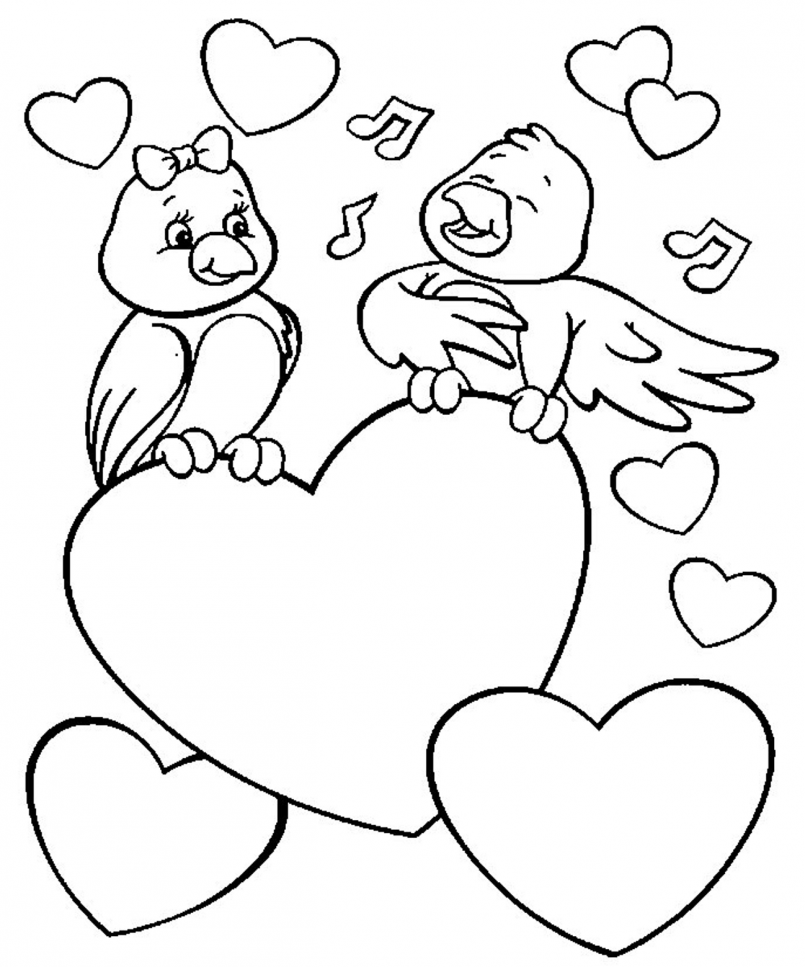Love Coloring Pages | Free download best Love Coloring Pages on ...
