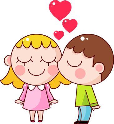 367x400 Couple Clipart Cartoon
