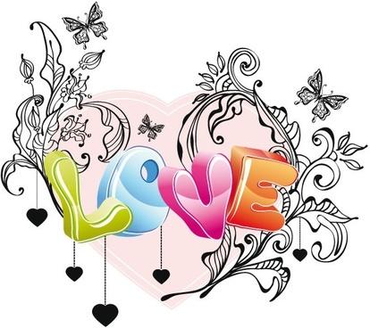 414x368 Cute Valentine Love Couple Cartoon Free Vector Download (20,898