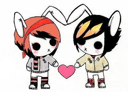 443x320 43 Best Emo Love Images Beautiful, Couple And Couples