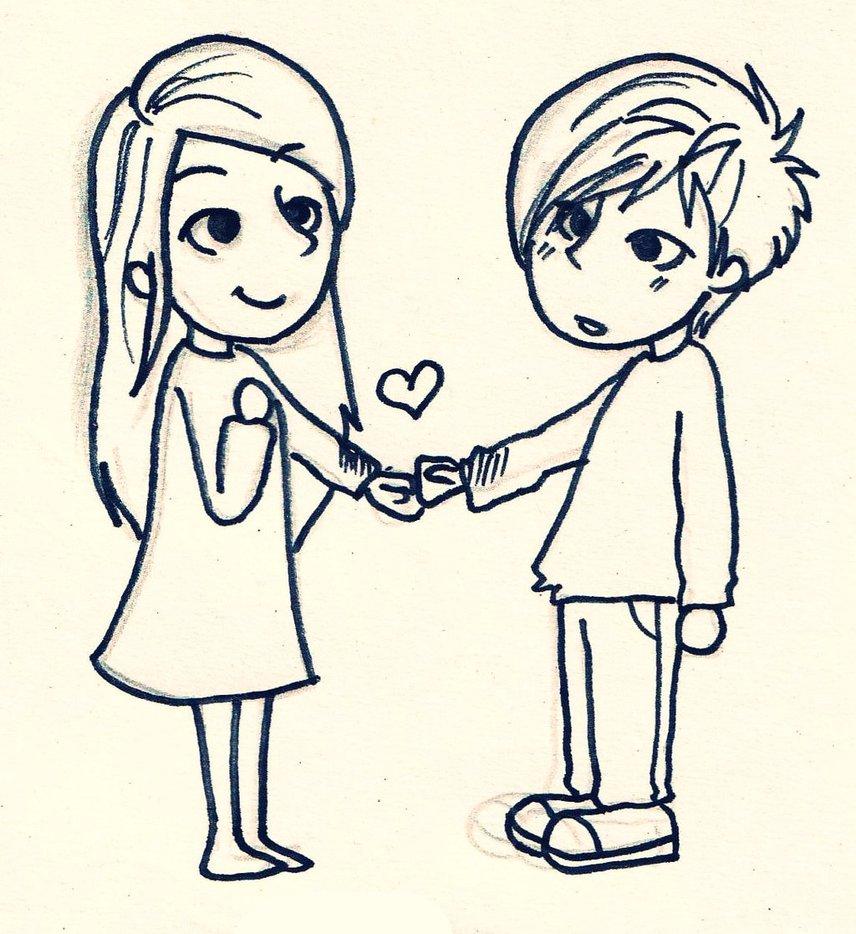 856x934 love couple cartoon sketches