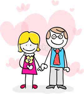 269x300 New Love Couple Cartoon Image