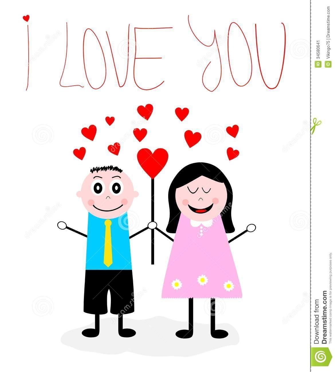 In Love Cartoon: Free Download Best Love Couple