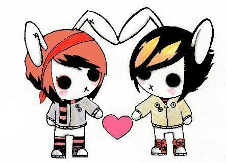 Love Couple Cartoon Pictures
