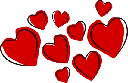 425x276 Clipart Of Heart Biezumd
